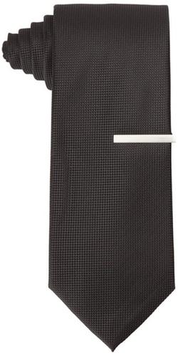 Little Black Tie - Dimension Solid Neat Necktie
