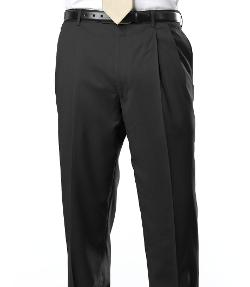 Jos A. Bank - Signature Gold Pleated Trousers- Charcoal, Navy Stripe