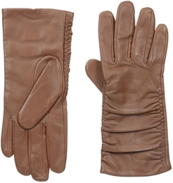 Adrienne Vittadini - Cashmere Lining Leather Gloves