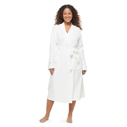 Gilligan & O'malley - Women's Plus Size Waffle Knit Robe