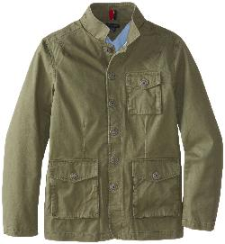 Tommy Hilfiger  - Boys Camel Twill Jacket