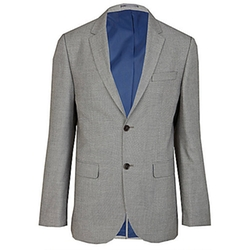 River Island - Grey Tailored Suit Jacket