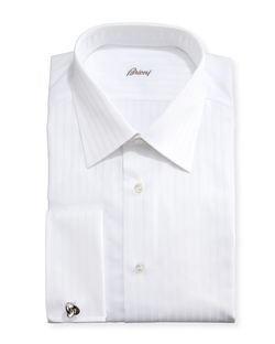 Brioni - Triple-Track French-Cuff Dress Shirt