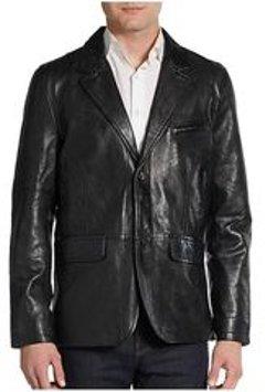 David Bitton - Javier Leather Sportcoat