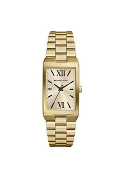 Michael Kors - Gold Rectangle Watch