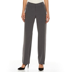 AB Studio -  Milan Straight-Leg Dress Pants