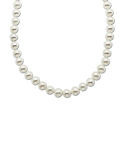 Lord & Taylor - Yellow Gold Freshwater Pearl Strand Necklace