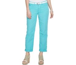 Lauren Jeans Co. - Cuffed Chino Pants
