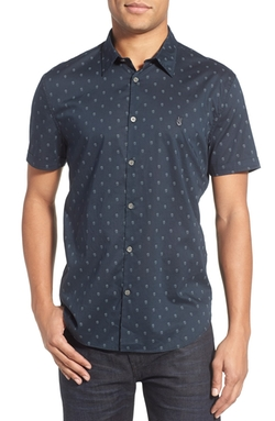 John Varvatos Star USA - Slim Fit Print Sport Shirt