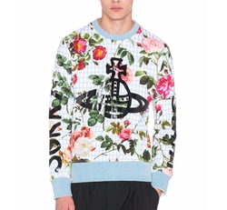 Vivienne Westwood Man - Roses Sorry Sight Floral Sweatshirt