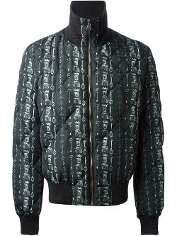 Dolce & Gabanna - Medieval Print Bomber Jacket
