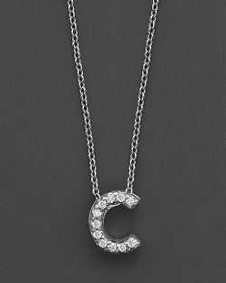 Roberto Coin  - Initial Pendant Necklace