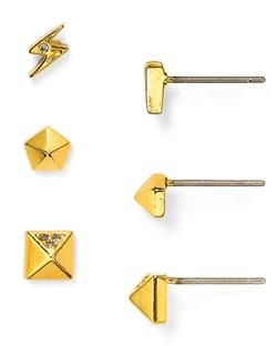 Baublebar - Mini Ice Geo Stud Earrings Set