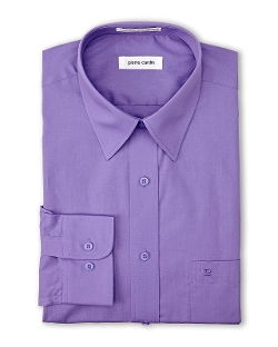 Pierre Cardin - Purple Solid Dress Shirt