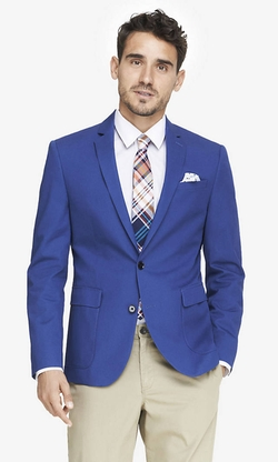 Express - Photographer Twill Blazer