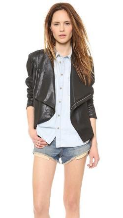 SW3 Bespoke - Queensway Faux Leather Jacket