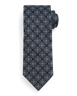 Brioni - Fancy Medallion Tie