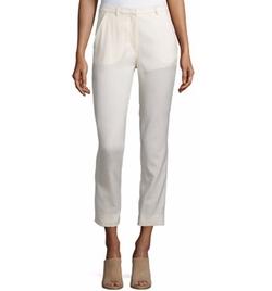 CNC Costume National - Slim-Leg Cropped Trousers