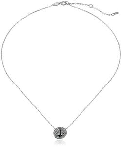 "Fossil  - ""Motifs"" Disc Anchor Pendant Necklace"