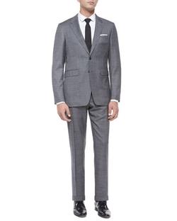 Burberry London - Milbank Sharkskin Wool Two-Piece Suit