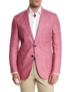 Peter Millar - Two-Button Linen Soft Coat