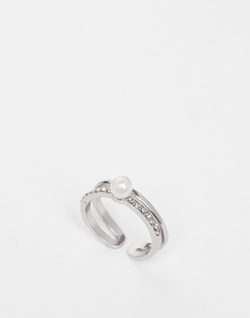 Asos - Double Band Pearl Ring