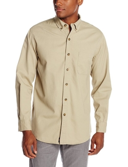 Dickies  - Long Sleeve Button-Down Twill Shirt