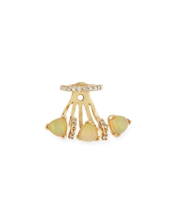 Paige Novick  - Marta Opal Single Jacket Earring