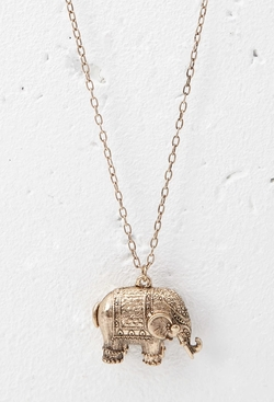 Forever21 - Elephant Pendant Necklace