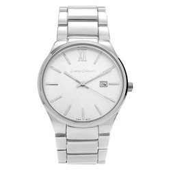 Journee Collection - Large Face Link Watch
