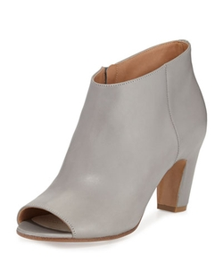 Maison Margiela - Open-Toe Leather Bootie