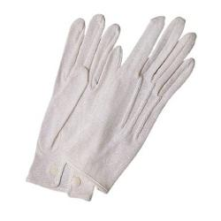 Riot Threads  - White Dress Parade Gloves
