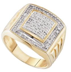 GD - Diamond Fashion Mens Ring