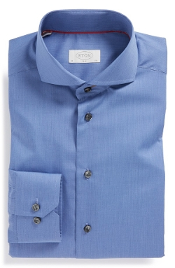 Eton - Slim Fit Solid Dress Shirt