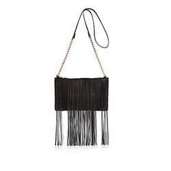 River Island - Fringed Cross Body Bag