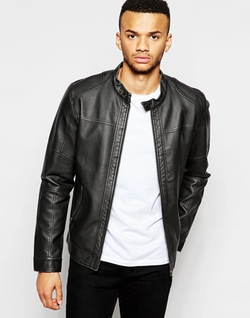 Jack & Jones - Faux Leather Jacket