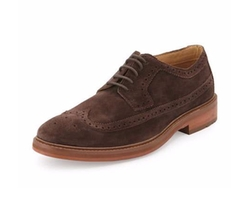 Ben Sherman  - Max Suede Wing-Tip Oxford Shoes