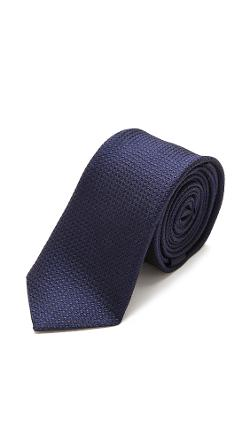 MR. START - Mini Dot Slim Silk Tie