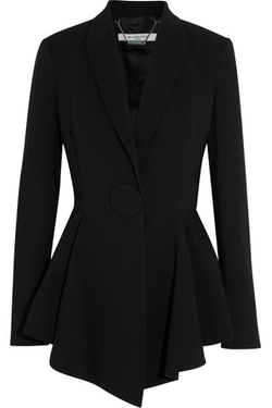 Givenchy - Peplum Blazer In Stretch-Crepe