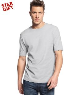 Club Room  - Short Sleeve Solid Performance Crew Neck T-Shirt