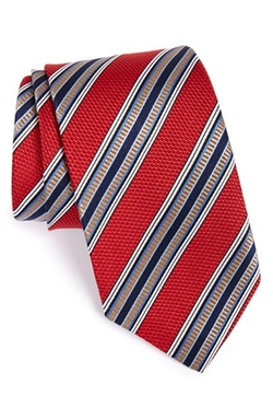 J.Z. Richards - Fancy Stripe Silk Tie