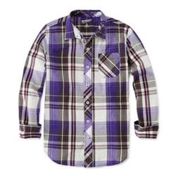 Arizona - Long-Sleeve Plaid Shirt