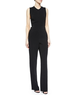 A.L.C. - Andrea Sleeveless Crepe Jumpsuit
