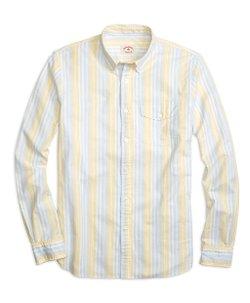 Supima - Cotton Stripe Sport Shirt
