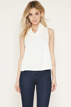 Forever 21 - Cowl Neck Top