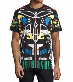 Marcelo Burlon - Tribal Graphic T-Shirt