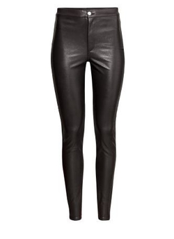 H&M - Imitation Leather Pants