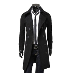 Michael On Sale Wear - Double Breasted Overcoat