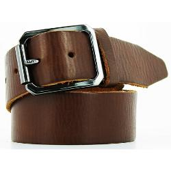 Remo Tulliani  - Washed-Leather Raw-Edge Belt