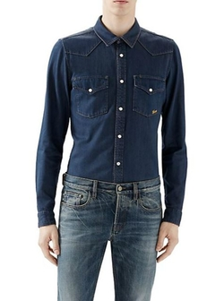 Gucci  - Denim Sportshirt